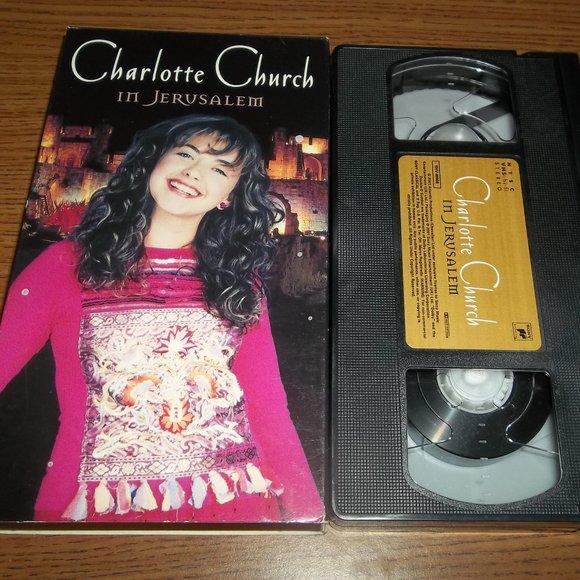 Other - Charlotte Church In Jerusalem VHS